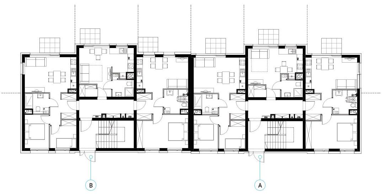 Budynek 1 - piętro 0