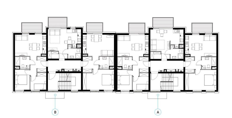 Budynek 1 - piętro 1